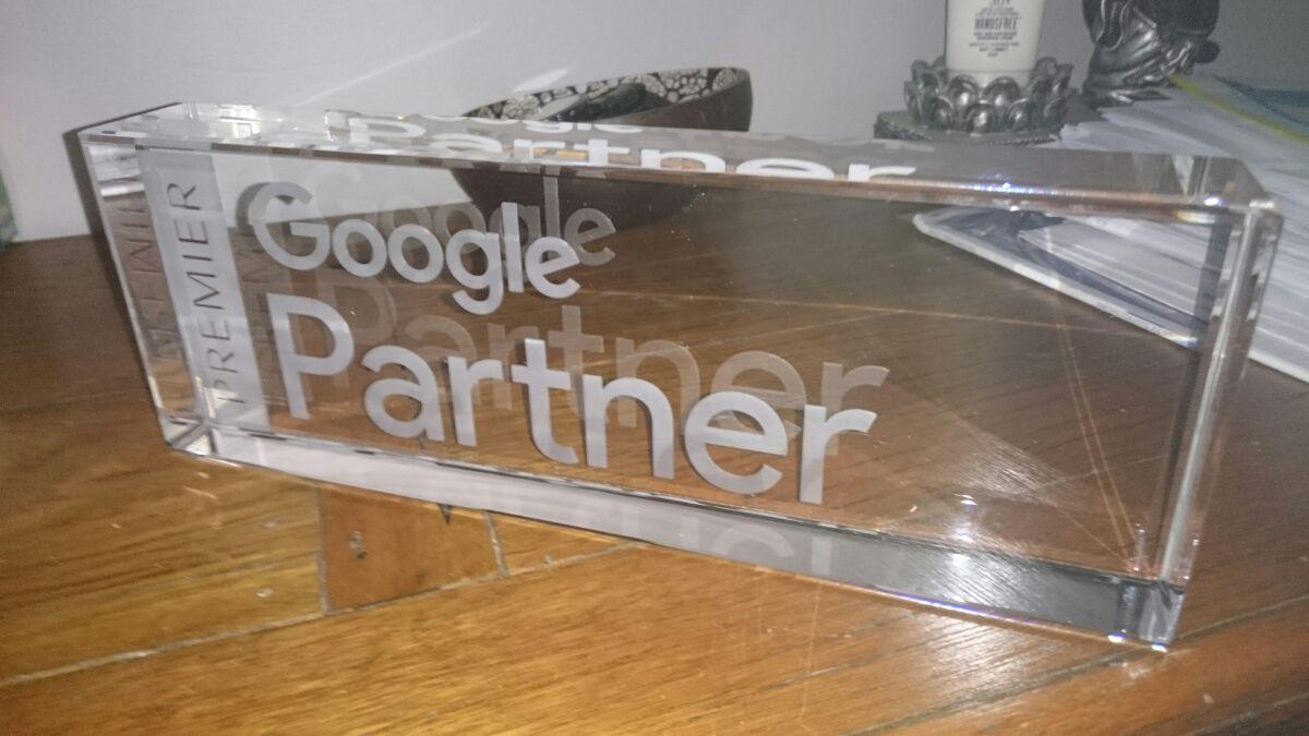 Google Premier Partner Awarded to Website Essentials