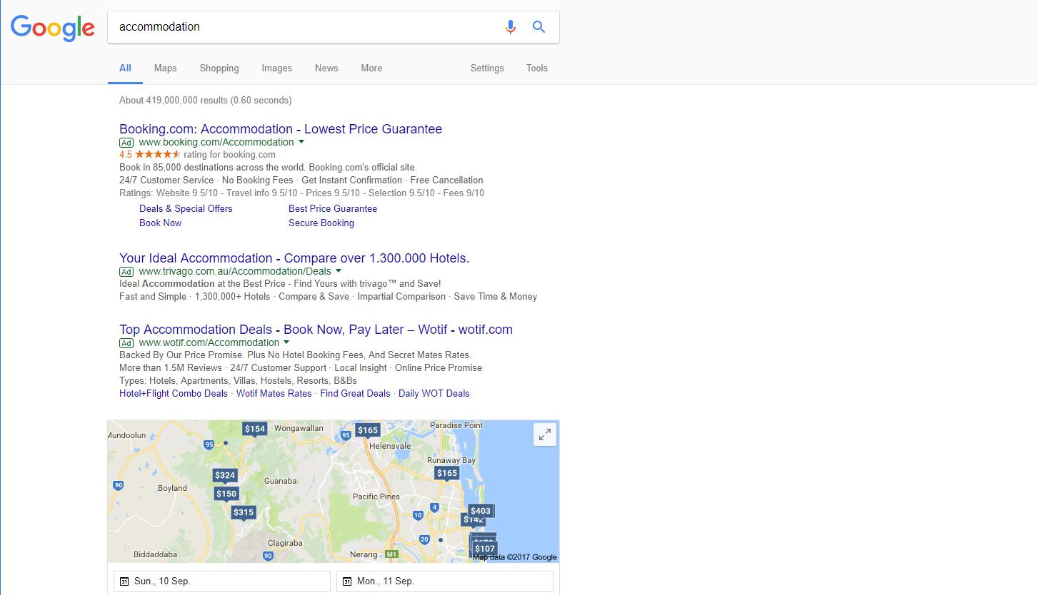 Constant Battle on Google